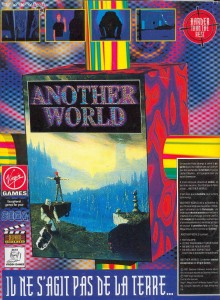 Publicité d\'Another World sur Megadrive