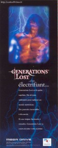 Generations Lost on Megadrive Ad