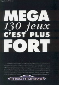 Ad for the Megadrive