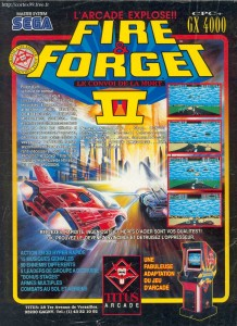 PFire & Forget 2 on Master System Ad