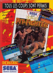 Pit-Fighter on Master System Ad