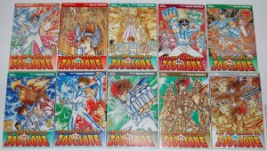 Saint Seiya : all the mangas from Hades Chapter