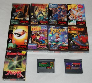 Ma collection de jeux JAGUAR (Atari)