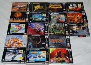 Some complete Nintendo 64 games
