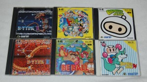 Some NEC games (PC Engine)