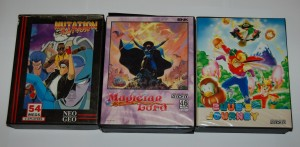 My 3 first Neo Geo (AES) games