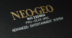 Close-up on the Neo Geo