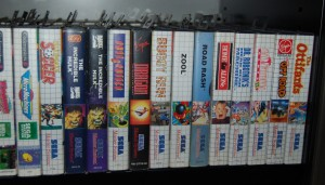 Cabinet C : close-up on some rare SMS games